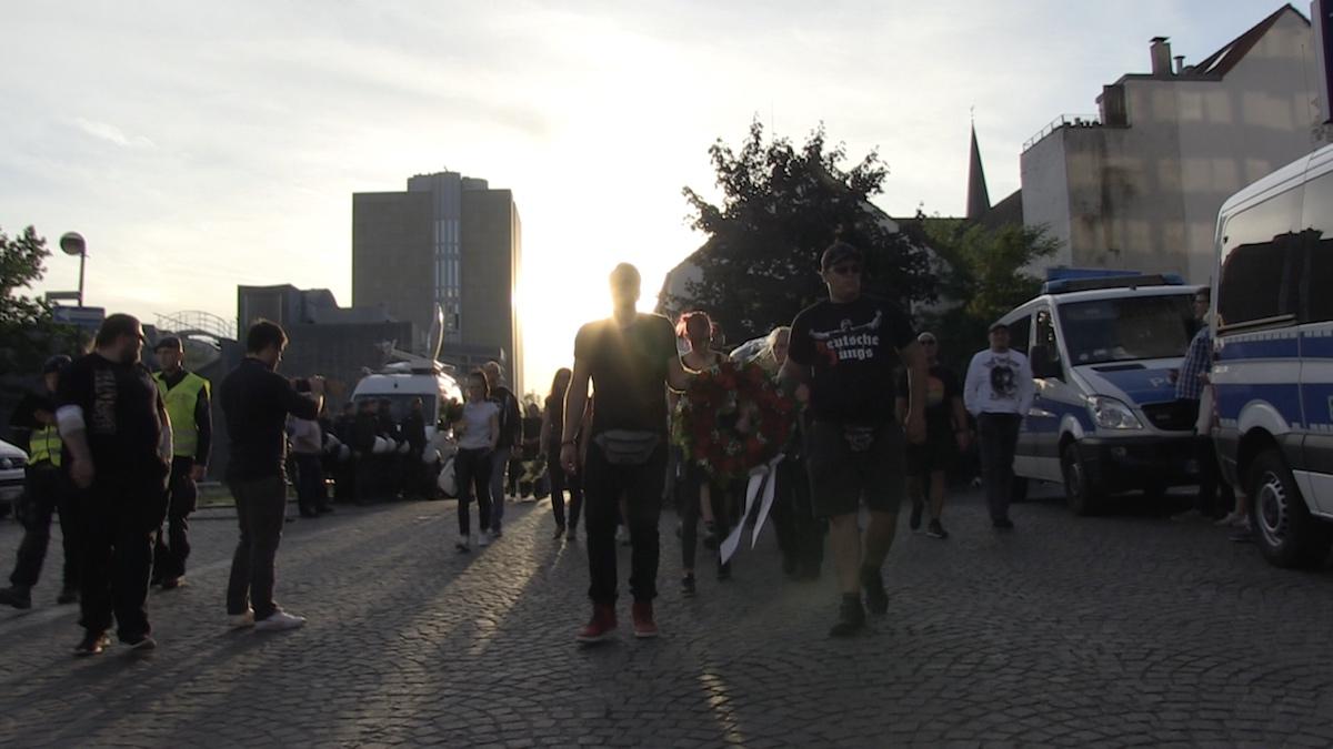 Trauermarsch Mönchengladbach